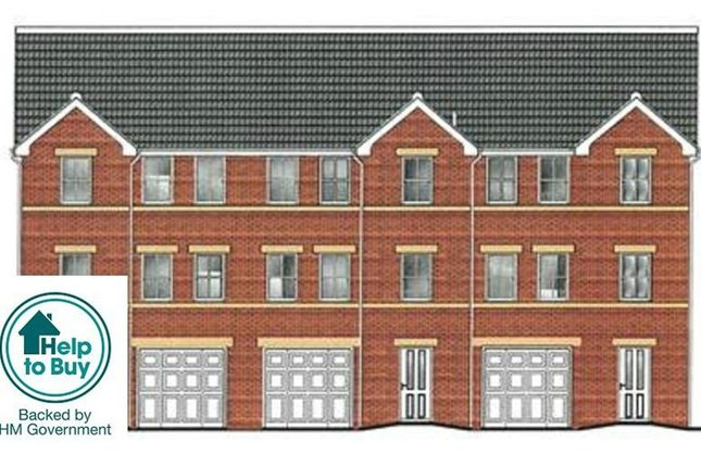 Thumbnail Town house for sale in Brand New Development, Former Kimberworth Hall, 266 Kimberworth Road, Rotherham, South Yorkshire
