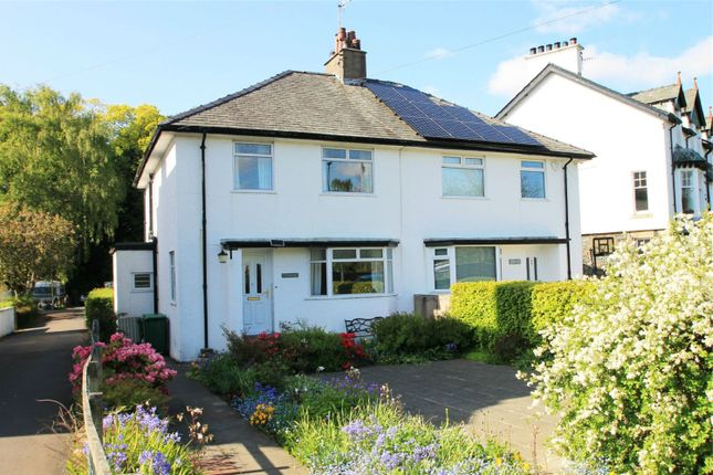 Thumbnail Semi-detached house for sale in Tynedale, Crosthwaite Road, Keswick, Cumbria