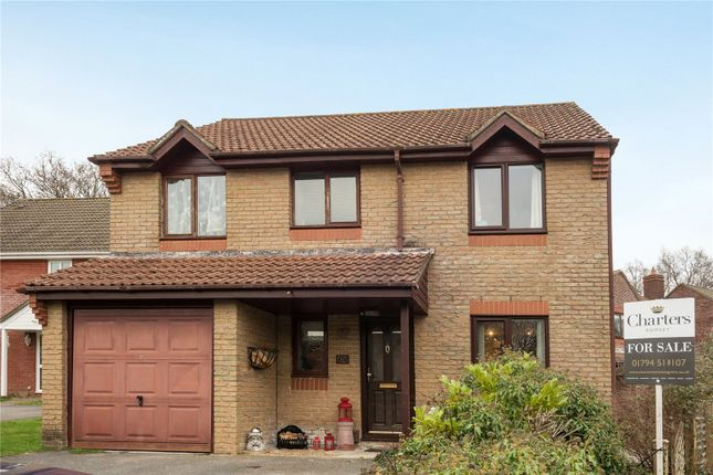 Thumbnail Detached house for sale in Broadbent Close, Rownhams, Southampton, Hampshire