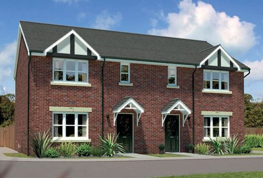 "Thumbnail Semi-detached house for sale in ""Caplewood Ag"" At Bye Pass Road, Davenham, Northwich CW9, Davenham,"