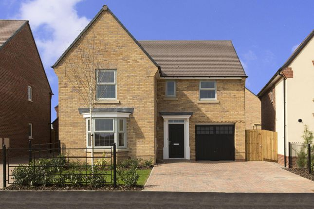 "Thumbnail Detached house for sale in ""Drummond"" at Warkton Lane, Barton Seagrave, Kettering"