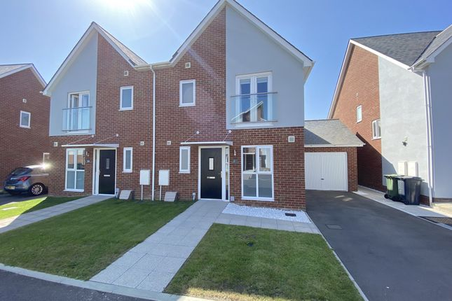 Thumbnail Semi-detached house for sale in Cornflower Crescent, Polegate, East Sussex