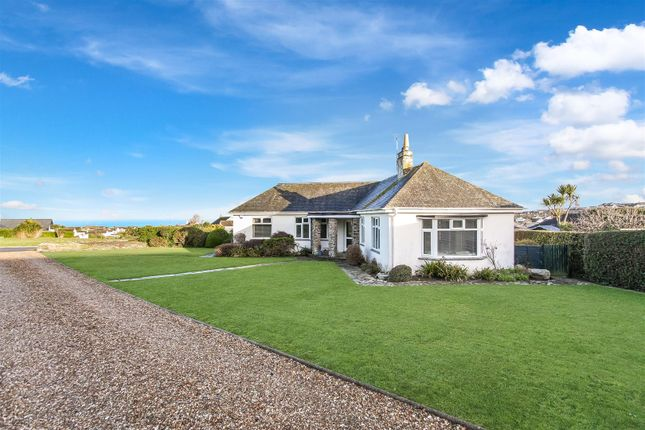 Thumbnail Detached bungalow for sale in Praze Road, Newquay