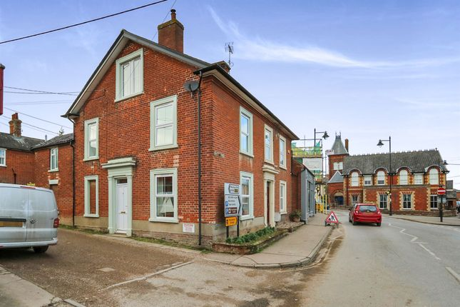 Thumbnail Town house for sale in Albert Place, Framlingham, Woodbridge