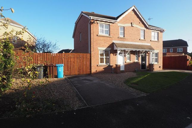 Thumbnail Semi-detached house to rent in Navigation Way, Victoria Dock, Hull, East Yorkshire