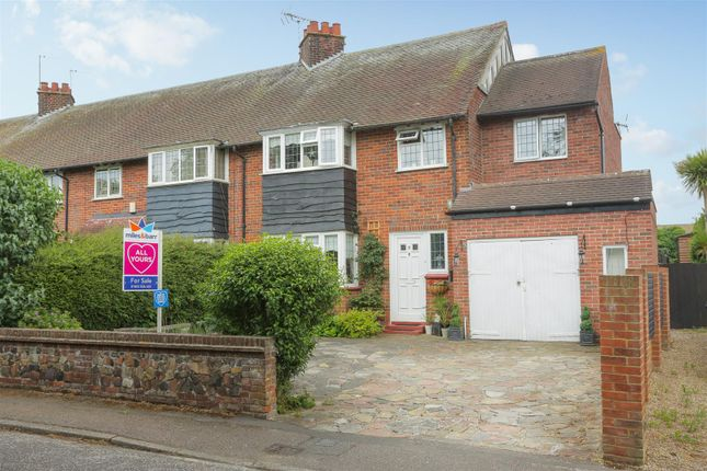 Thumbnail End terrace house for sale in Barn Crescent, Margate