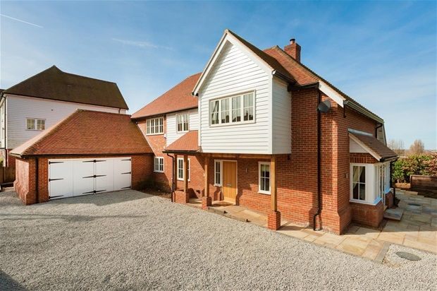 Thumbnail Detached house for sale in Church Hill, Hernhill, Faversham