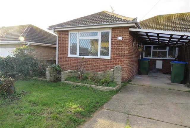 Thumbnail Bungalow to rent in Hoddern Avenue, Peacehaven