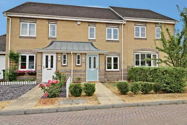 Thumbnail Terraced house to rent in Upavon Close, Worting, Basingstoke