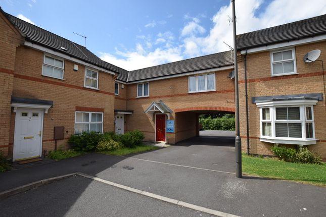 Thumbnail Town house to rent in Loganberry Court, Alvaston, Derby