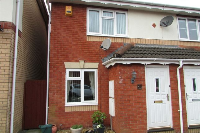 Thumbnail Semi-detached house to rent in Derwen Deg, Bryncoch, Neath, West Glamorgan