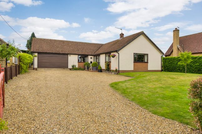 Thumbnail Detached bungalow for sale in Barningham, Bury St Edmunds, Suffolk
