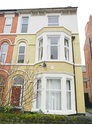 Thumbnail End terrace house to rent in Burford Road, Nottingham
