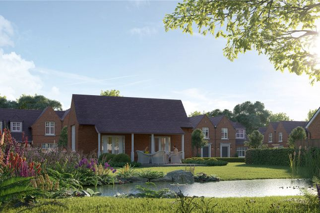 Thumbnail Semi-detached house for sale in Old School House, Sandpit Hall Road, Chobham, Surrey
