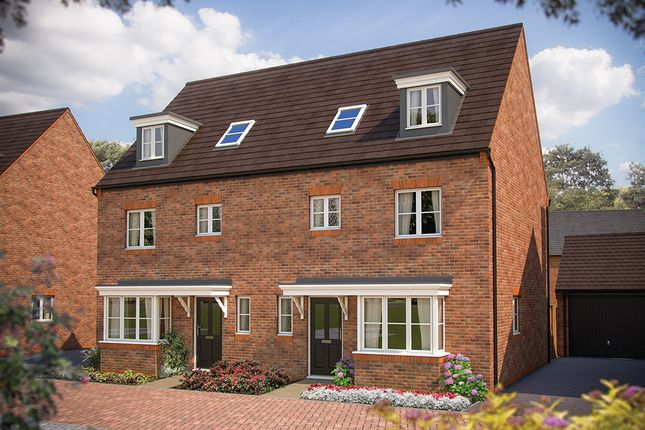 """Thumbnail Town house for sale in """"The Wimborne"""" at Heyford Park, Camp Road, Upper Heyford, Bicester"""
