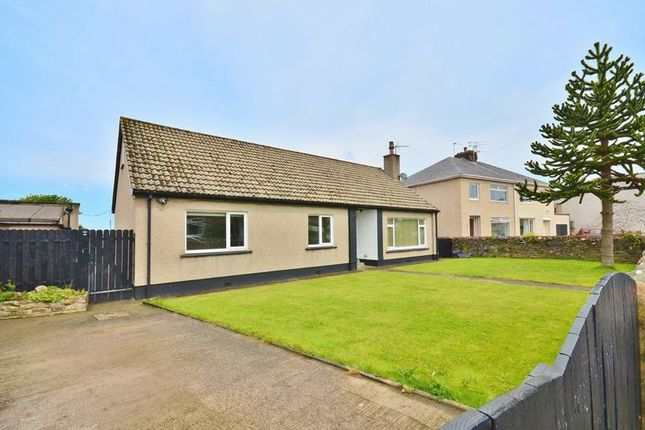 Thumbnail Detached bungalow for sale in Scaw Road, High Harrington, Workington