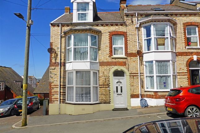 Thumbnail End terrace house for sale in Victoria Road, Ilfracombe