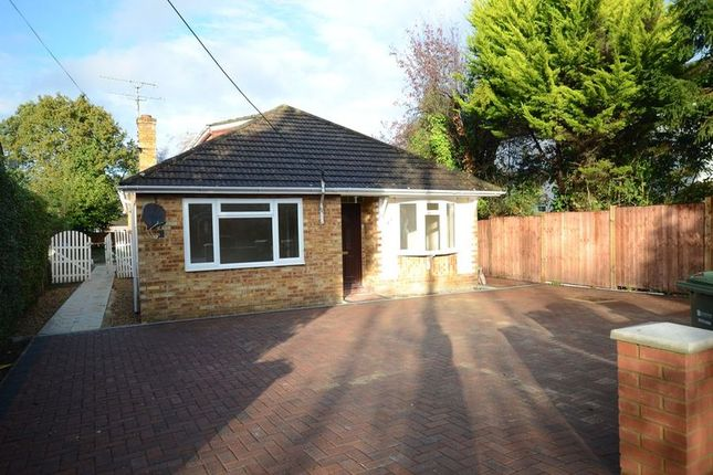 Thumbnail Bungalow to rent in Wood Street, Ash Vale, Aldershot