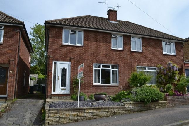 Thumbnail Semi-detached house for sale in Weald View Road, Tonbridge