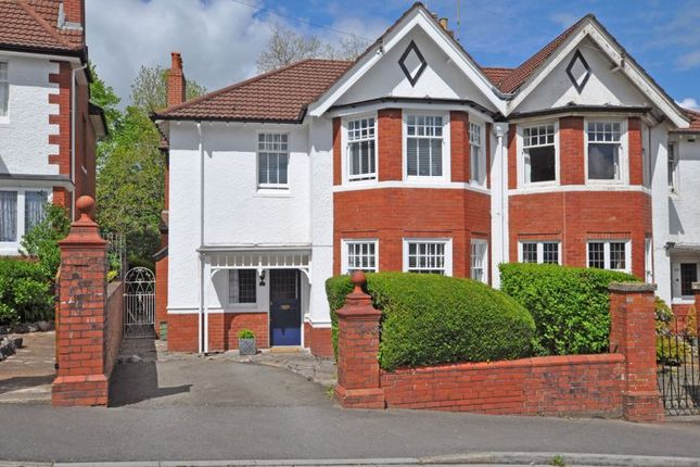 Thumbnail Semi-detached house for sale in Stunning Period House, Fields Park Avenue, Newport
