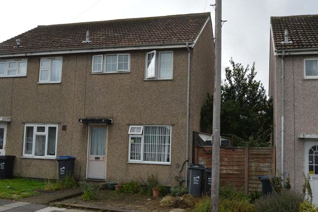 Thumbnail Semi-detached house for sale in St. Anthonys Way, Margate