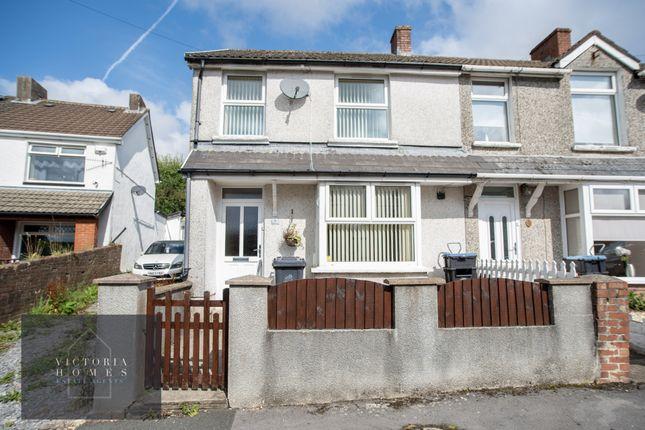 Thumbnail End terrace house for sale in Bryngwyn Road, Beaufort