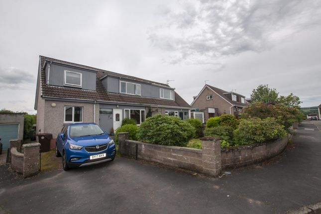 Thumbnail Semi-detached house for sale in 33 Montrose Way, Dunblane, Perthshire 9Jl, UK