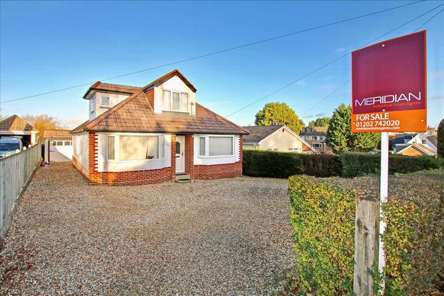Thumbnail Bungalow for sale in Hanham Road, Corfe Mullen, Wimborne