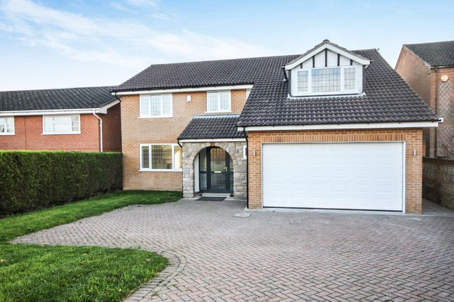 Thumbnail Detached house for sale in Strettea Lane, Higham, Alfreton