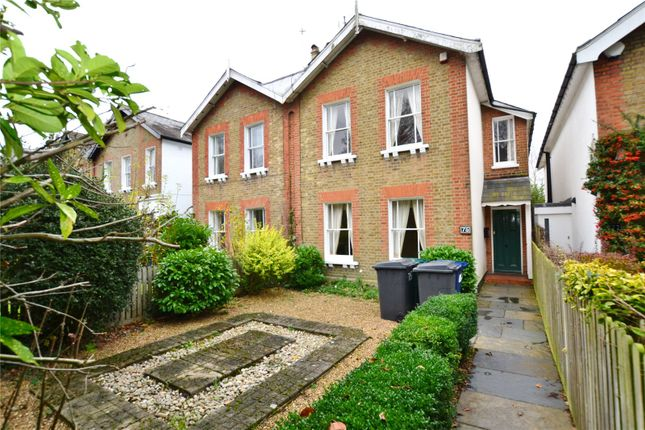Thumbnail Semi-detached house to rent in Wood Street, Barnet