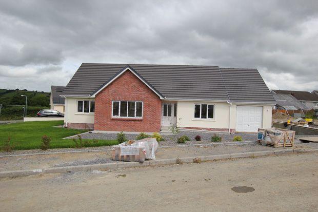 Thumbnail Detached bungalow for sale in Plot 3, Llandre, Llanpumsaint, Carmarthen, Carmarthenshire