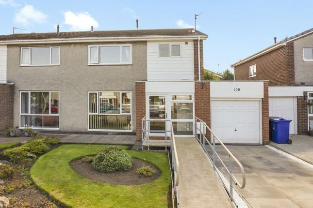 Thumbnail Semi-detached house for sale in 108 Newbattle Abbey Crescent, Dalkeith