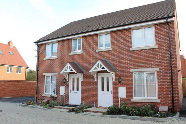 Thumbnail Semi-detached house to rent in Parsons Way, Farnham