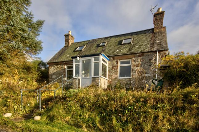 Thumbnail 2 bed cottage for sale in West Gatehouse, Backies, Golspie