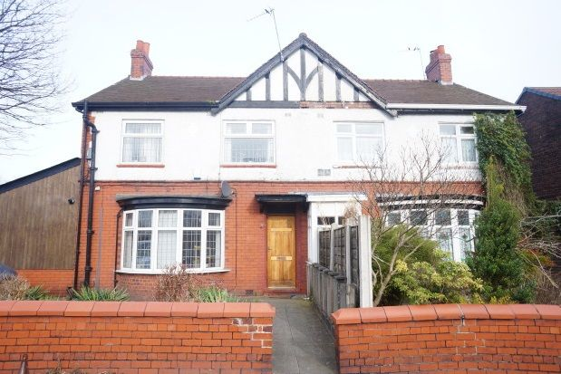 Thumbnail Semi-detached house to rent in Cavendish Road, West Didsbury