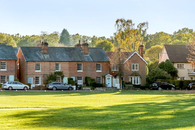 Thumbnail End terrace house for sale in Hartford Terrace, Hartley Wintney, Hook, Hampshire