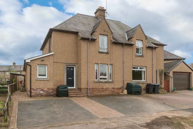 Thumbnail Semi-detached house for sale in Sprouston Road, Newtown St Boswells, Melrose, Borders
