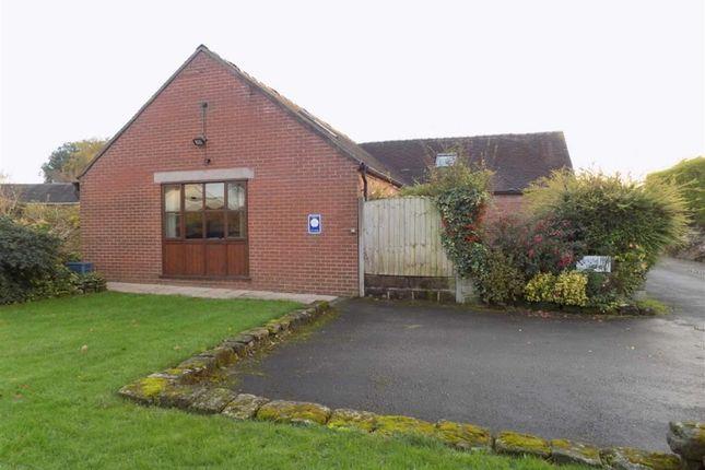 Thumbnail Semi-detached bungalow to rent in Oakhill Farm, Oakhill, Tean, Staffordshire