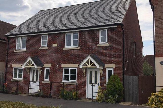 Thumbnail Semi-detached house to rent in Jennetts Park, Bracknell