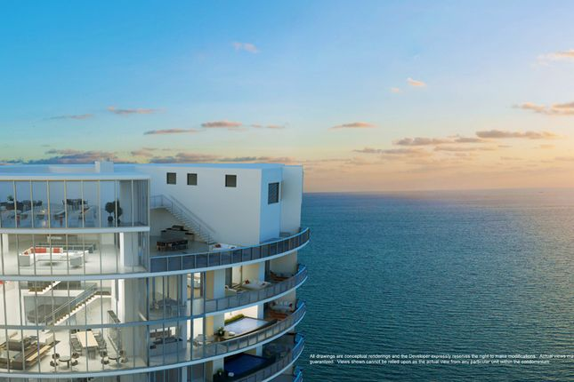 Penthouse Elevation View At The Porsche Design Tower In Miami