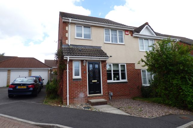 Thumbnail Semi-detached house to rent in Lingen Close, Andover
