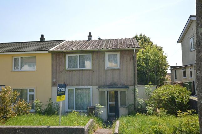 Thumbnail Semi-detached house for sale in Blandford Road, Plymouth, Devon