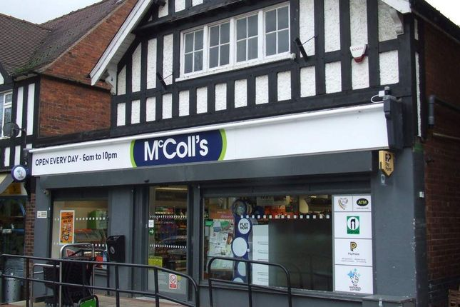 Thumbnail Retail premises for sale in Mansfield Road, Blidworth, Mansfield