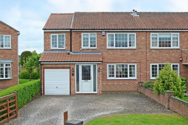 Thumbnail Semi-detached house for sale in Whenby Grove, Huntington, York