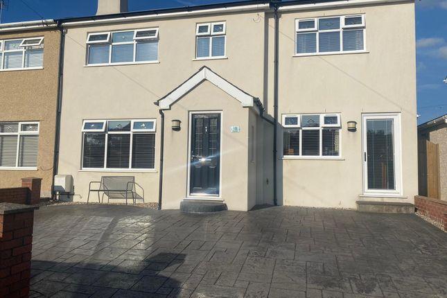 Thumbnail Semi-detached house for sale in Glanrafon Estate, Bontnewydd, Caernarfon, Gwynedd