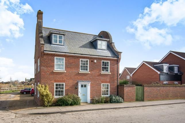 Thumbnail Detached house for sale in Mulbarton, Norwich, Norfolk
