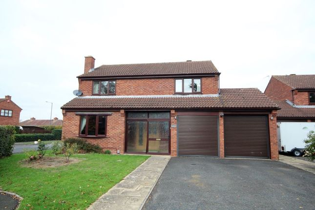 Thumbnail Detached house to rent in Pinehurst, Cubbington, Leamington Spa