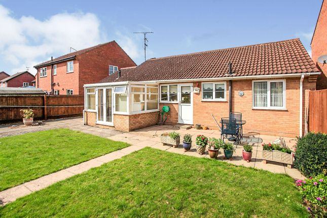 Thumbnail Detached bungalow for sale in Tarrant, Werrington, Peterborough