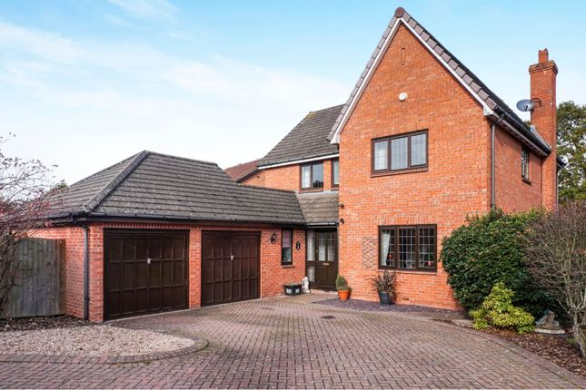Thumbnail Detached house for sale in Slimbridge Close, Solihull