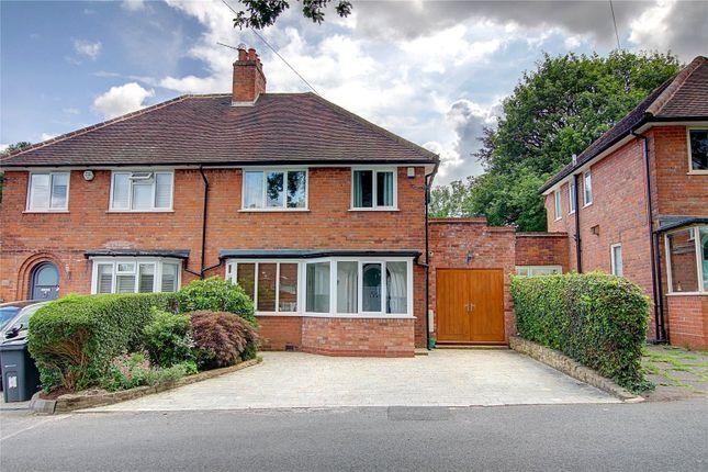 Thumbnail Semi-detached house for sale in Shenley Fields Road, Bournville Village Trust, Selly Oak, Birmingham